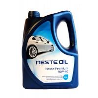 Моторное масло NESTE Premium 10W-40 полусинтетическое, 4 л