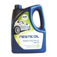 Моторное масло NESTE City Pro LL 5W-30 синтетическое, 4 л