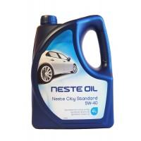 Моторное масло NESTE City Standard 5W-40 синтетическое, 4 л
